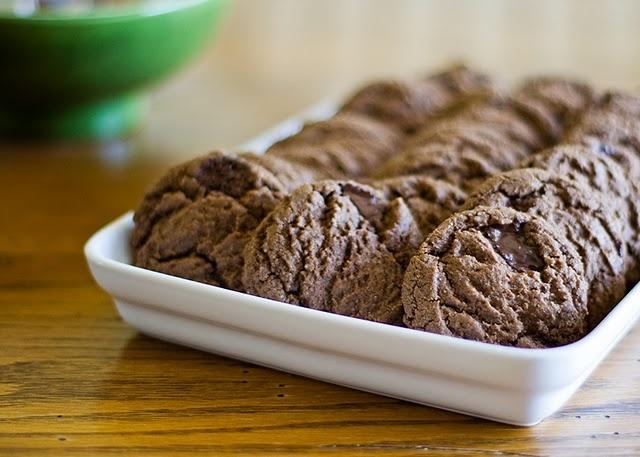 Mocha Espresso Mint Cookies, with Green & Blacks