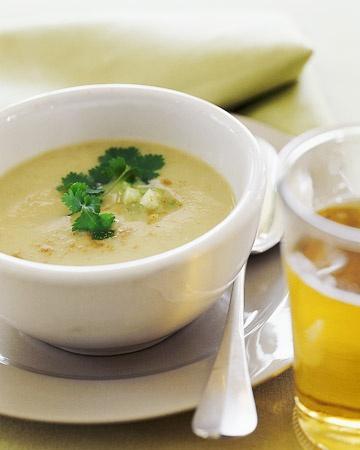 Chilled Buttermilk-Tomatillo Soup | Soups | Pinterest
