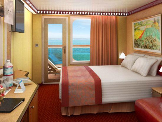 Carnival dream balcony room vacation pinterest for Alaska cruise balcony room