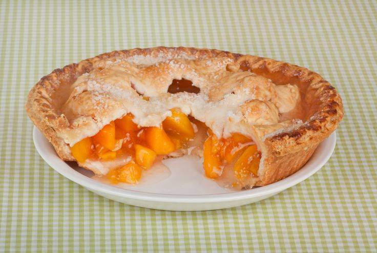 Easy Peach Pie | Sweets | Pinterest