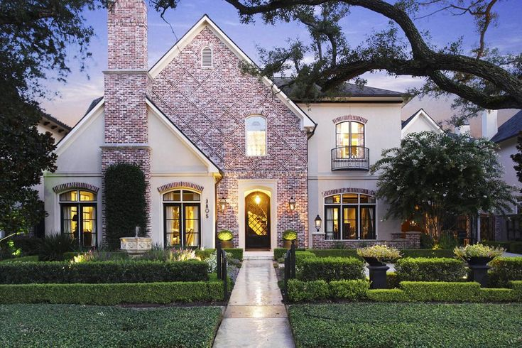 Stucco and brick home ideas pinterest for Stucco and brick homes