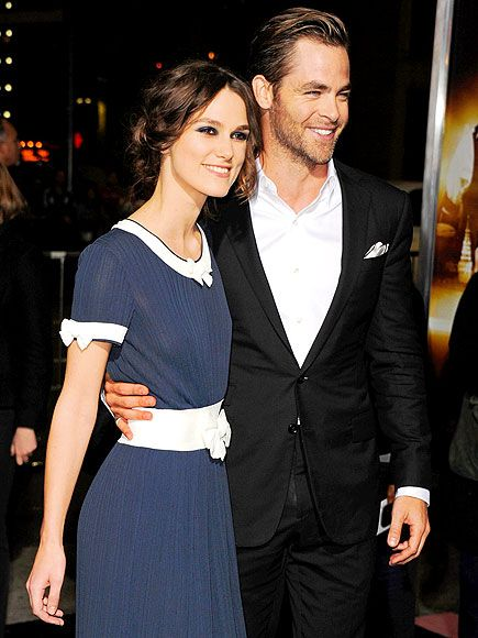 keira knightleyChris Pine And Keira Knightley Interview