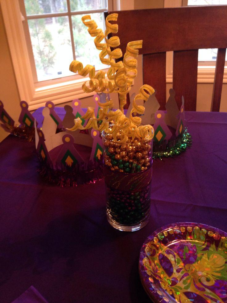 mardi gras themed baby shower party shower ideas pinterest