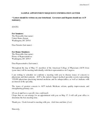 Appointment Request Letter - sample appointment request letter that ...