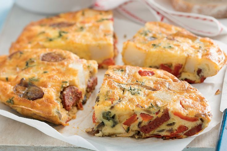 This easy-to-cook frittata features a classic South American flavour ...