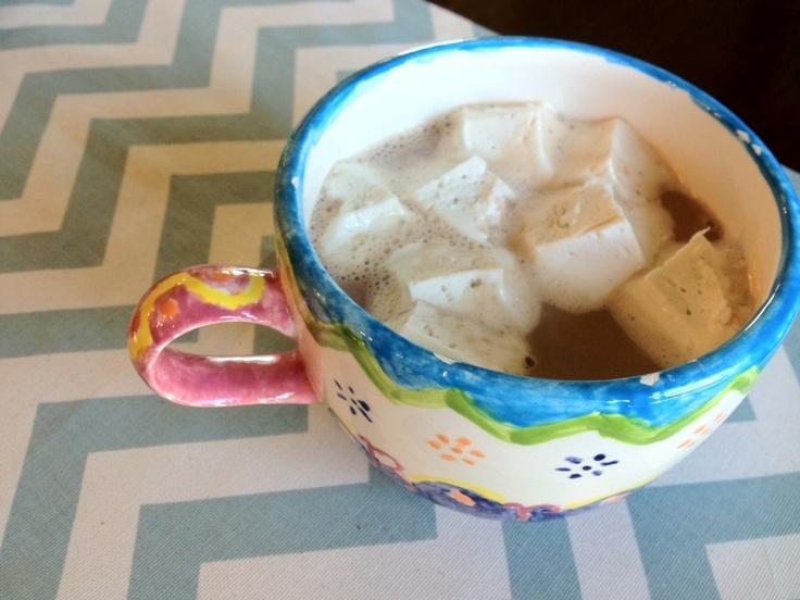 Maple-Vanilla Hot Cocoa {with Homemade Marshmallows}