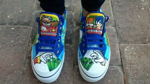 Sonic the hedgehog shoes