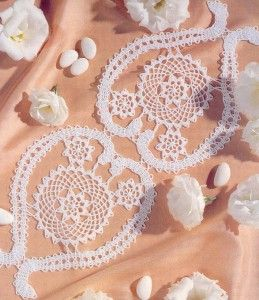 Free Crochet Pattern For Heart Doily : heart-free-doily-patterns Crochet Patterns Pinterest