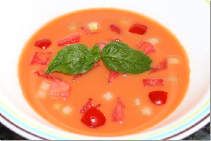 Watermelon And Tomato Gazpacho Recipes — Dishmaps