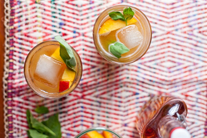 Recipe Idea: Peach and Basil Juleps | Prohibition, We Love You But ...