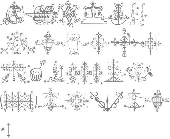 Similiar Haitian Symbols And Meanings Keywords