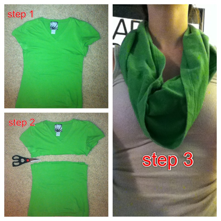 How to make an infinity scarf How To Make Infinity Scarf Video