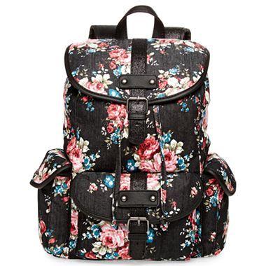 Olsenboye® Glitter Floral Backpack - jcpenney