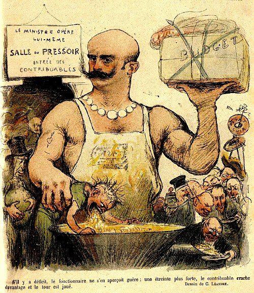Démagogie fiscale (La) de l'impôt progressif sur le revenu dénoncée en 1909