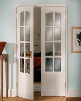 French doors homey pinterest for Narrow interior french doors