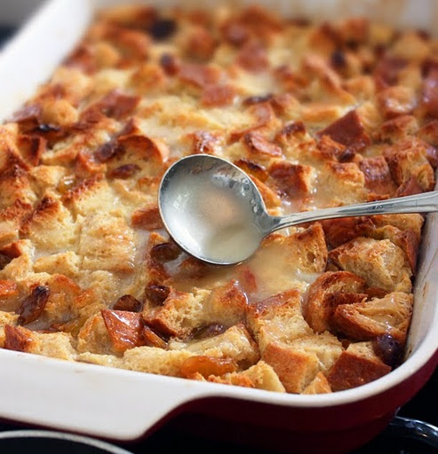Bread Pudding with Whiskey Sauce! | FOOD | Pinterest