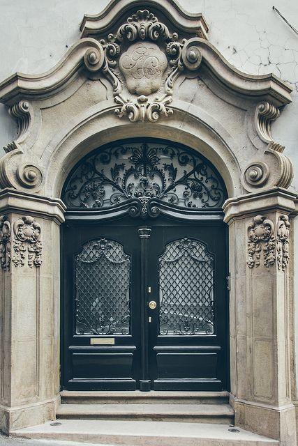 Door in budapest hungary home decor pinterest for Baroque door handles