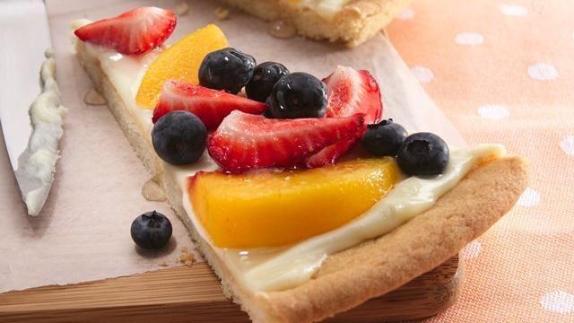 Fanciful Fruit Pizza Recipe
