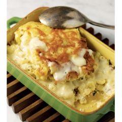 Bobby Flay's Macaroni and Cheese Carbonara Recipe http://www ...
