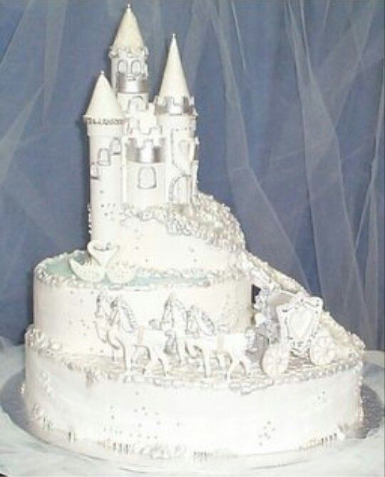 Fairy Tale Wedding Cake It S All Cakes Pops Amp Cups Pinterest