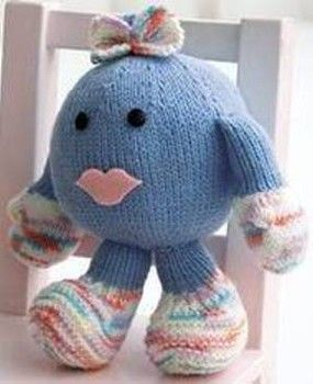 Free knitting pattern: Amigurumi Baby Girl