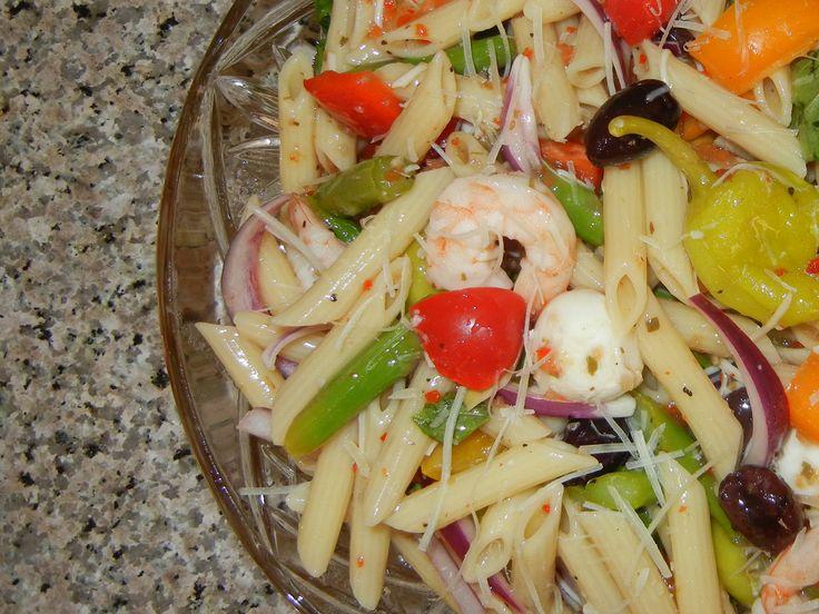 Mediterranean Pasta Salad | Soup and Salad | Pinterest