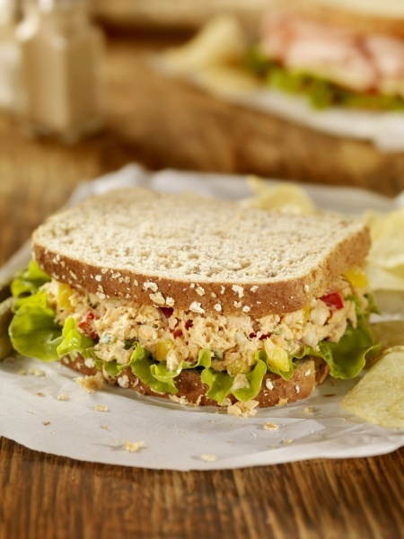 Grilled Tuna Salad Sandwiches | Food Inspiration & Recipes | Pinterest