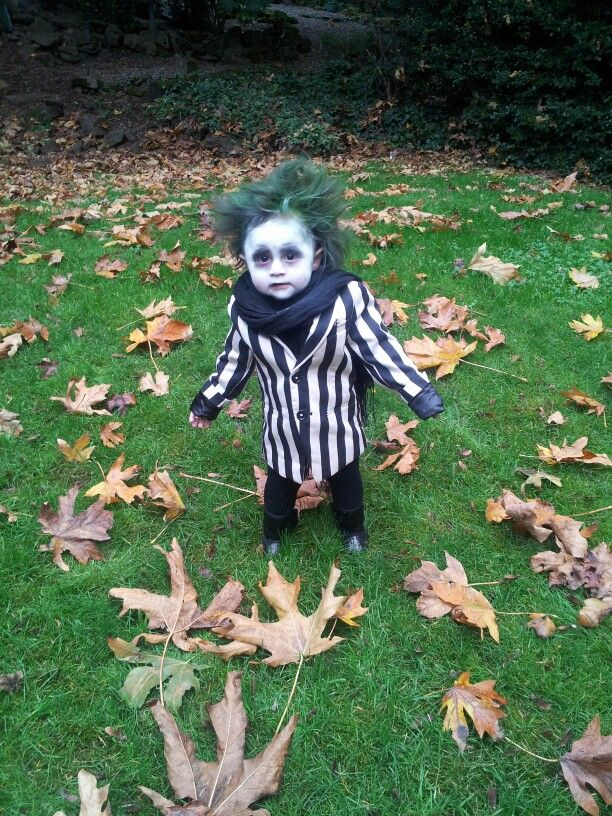 Beetlejuice kids costume