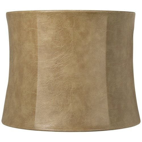 faux leather lamp shade texas southwest family room pinterest. Black Bedroom Furniture Sets. Home Design Ideas