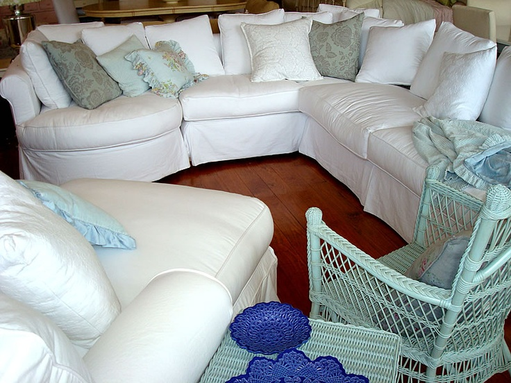 Antique overstuffed chairs - Overstuffed Sofa Country Cottage Furniture Shabby Chic Overstuffed