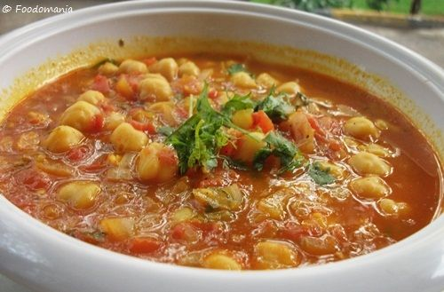 Moroccan Chickpea Soup | Recipes | Pinterest