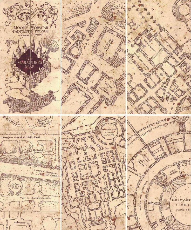 Best 25 Marauders Map Ideas On Pinterest Harry Potter