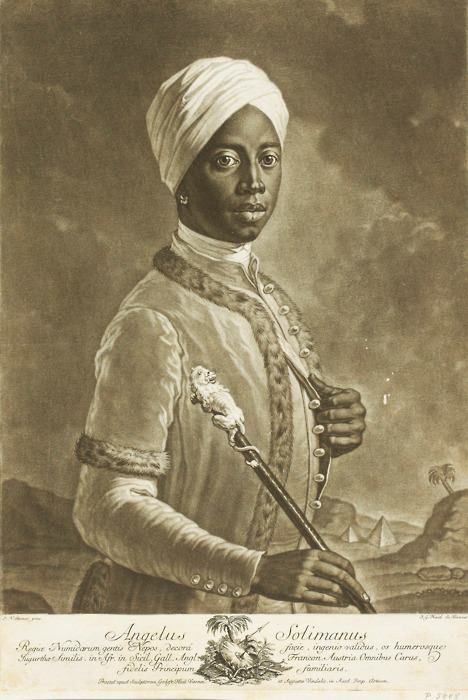 Noble moorish freemason Angelo Soliman of Austria.He was an ...