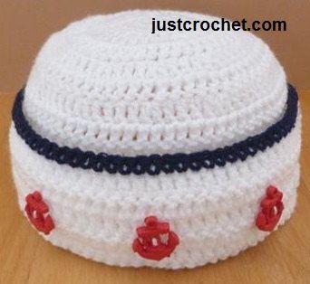 Free Crochet Pattern For Sailor Hat : CROCHET INFANT SAILOR HAT ? Only New Crochet Patterns