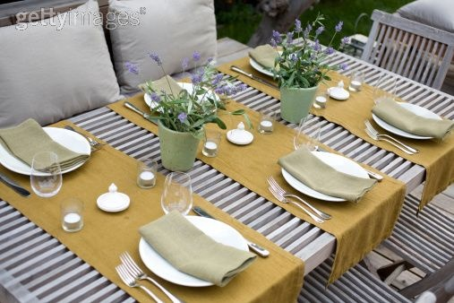Table Setting For Dinner Party : dinner party table setting, darling!!  entertaining  Pinterest