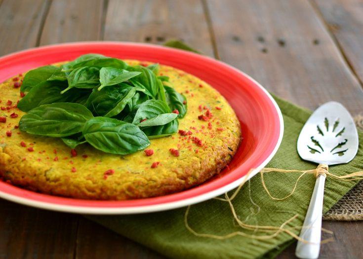 Zucchini Frittata | Food: Vegan & Vegetarian | Pinterest