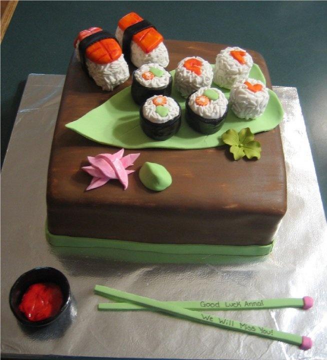 sushi cake | My Cakes :) | Pinterest