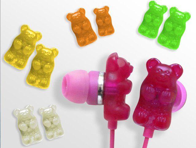 Gummy Bear earphones