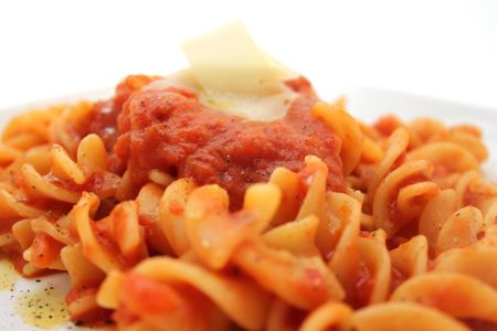butter-and-onion pasta sauce. whole peeled tomatoes from a can, butter ...