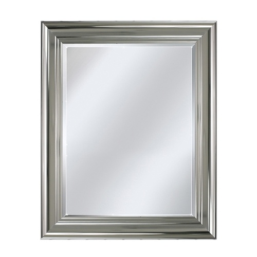 Bathroom wall mirror polished chrome bathrooms pinterest Polished chrome bathroom mirrors