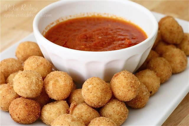 The Apple Crate: Fried Mozzarella Balls | FOOD | Appetizers | Pintere ...
