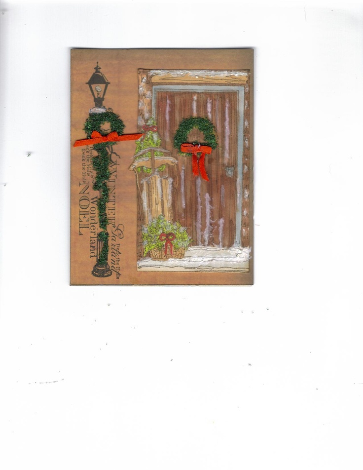 Handmade cards on pinterest just b cause for Handmade christmas cards pinterest