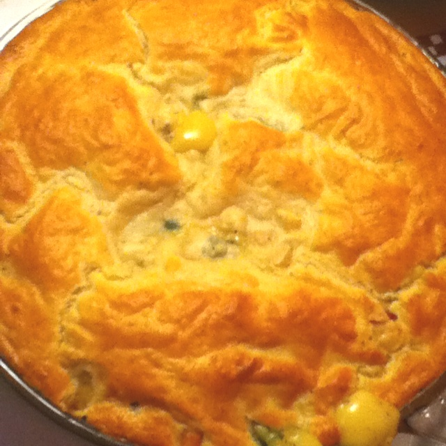 Quick and easy chicken pot pie | YUMMO | Pinterest
