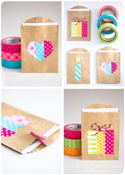 Washi tape crafts craft ideas pinterest - Washi tape ideas ...