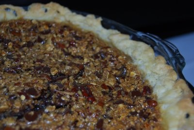 Chocolate Chip Oatmeal Pecan Pie | Bakerella | Pinterest