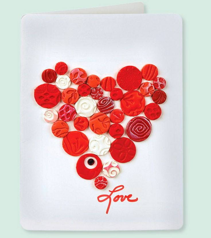 Create a Valentine's Day card made with love!