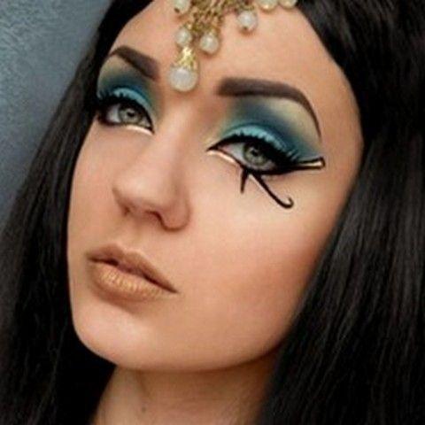 Ancient Egyptian Eye Makeup | Makeup and face paint ...