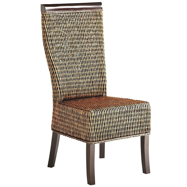 Lurik Hand Woven Dining Chair Pier One Beautiful Osier Ratan Bam