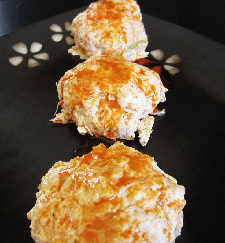 Buffalo Chicken Burgers | 7 chicken | Pinterest