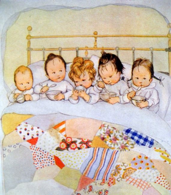 Susan B. Pearce (1878-1980) 'Bedtime Goodnight', 1920s